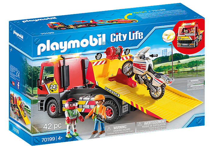 70199 Playmobil Towing Service