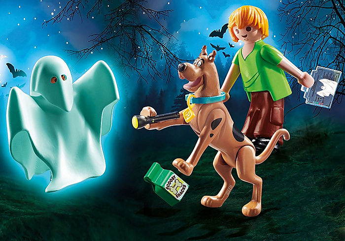 70287 Playmobil SCOOBY-DOO! Scooby and Shaggy with Ghost