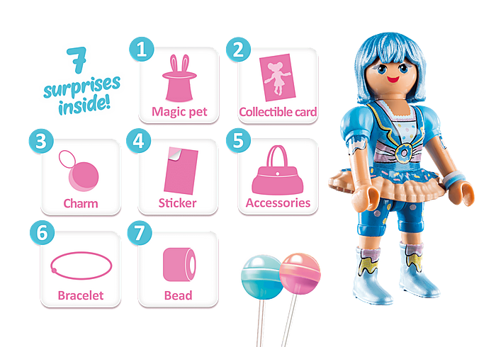 70386 Playmobil Clare - Candy World