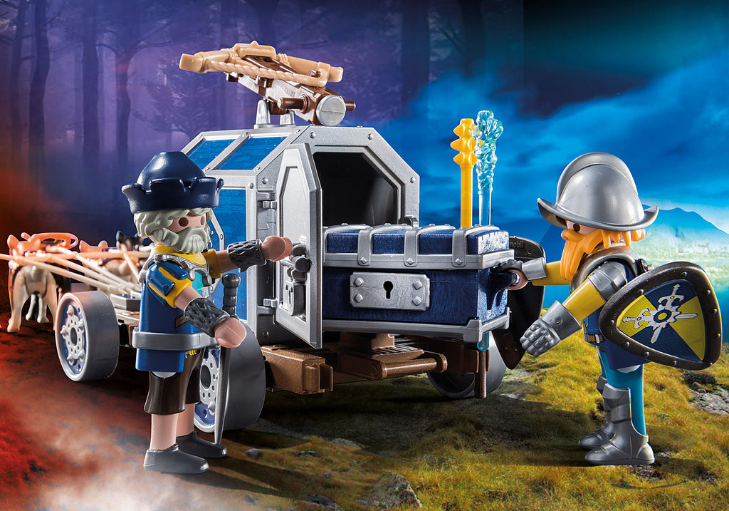 70392 Playmobil Novelmore Treasure Transport