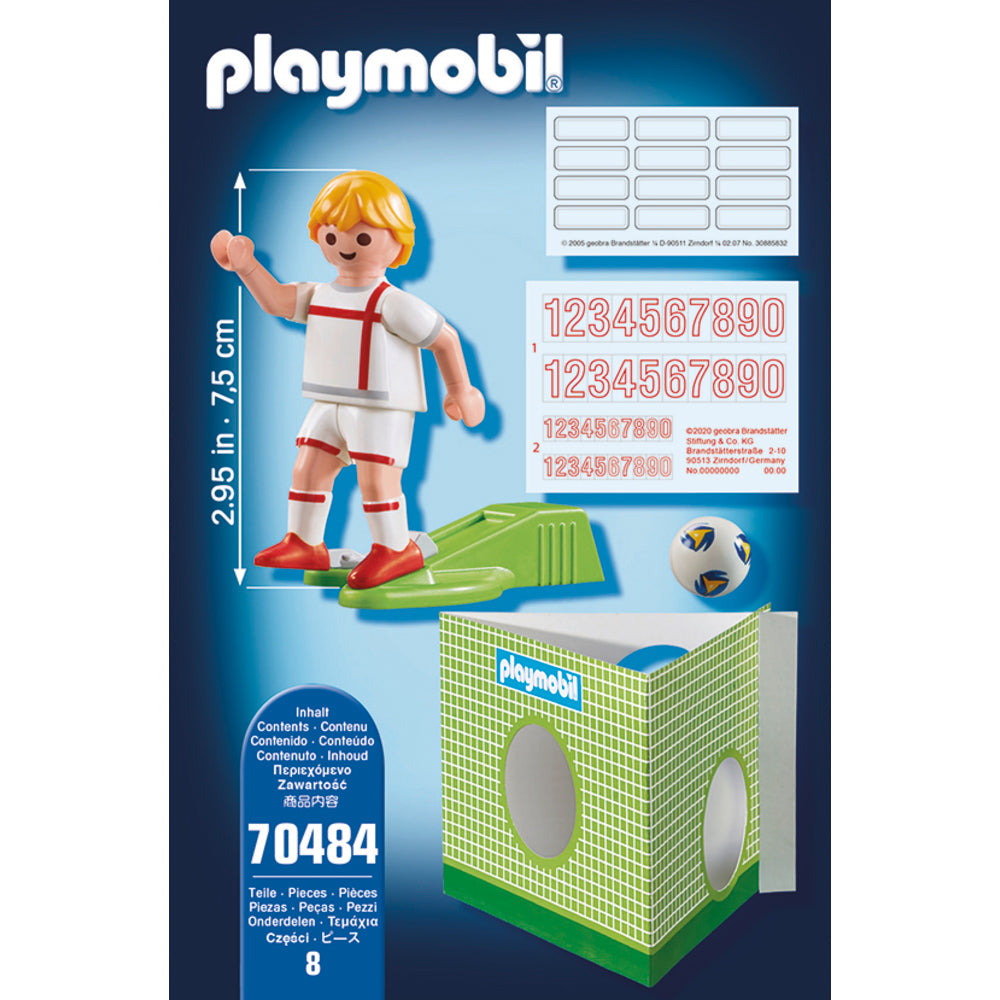 70484 Playmobil National Player England