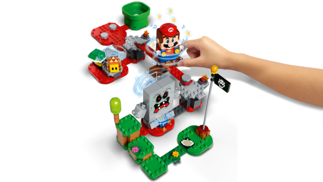 71364 LEGO Super Mario Whomp's Lava Trouble Expansion Set