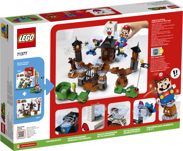 71377 LEGO Super Mario King Boo and the Haunted Yard Expansion Set