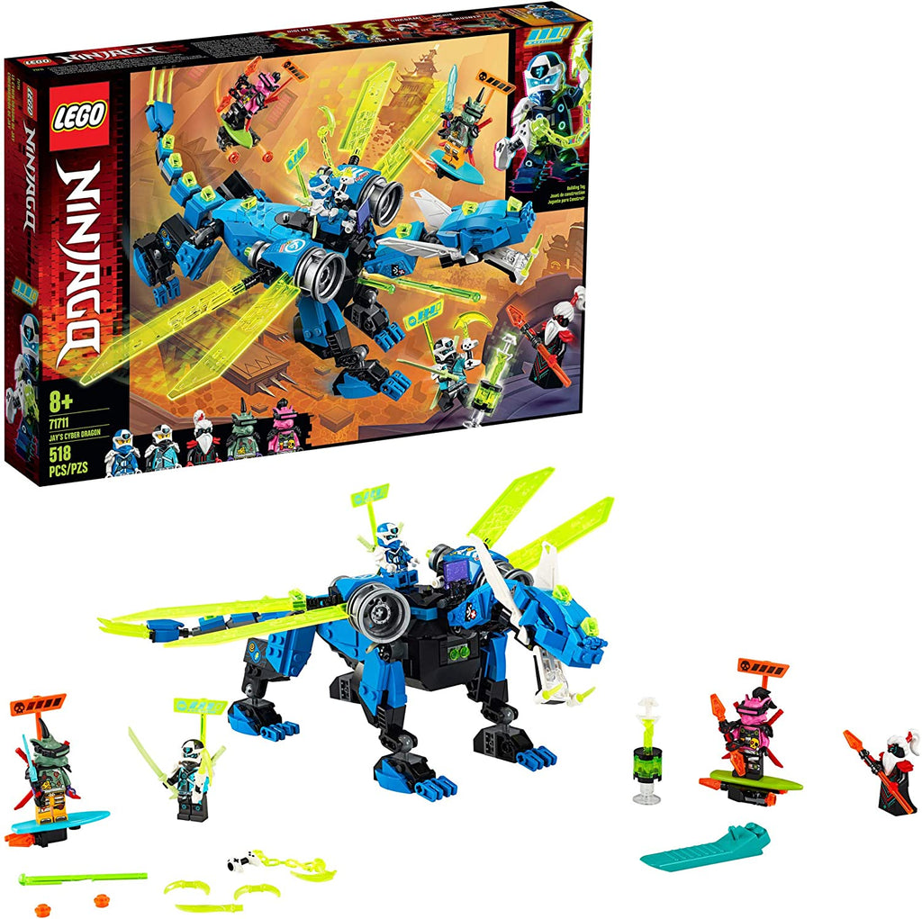 71711 LEGO Ninjago TV Series Jay's Cyber Dragon