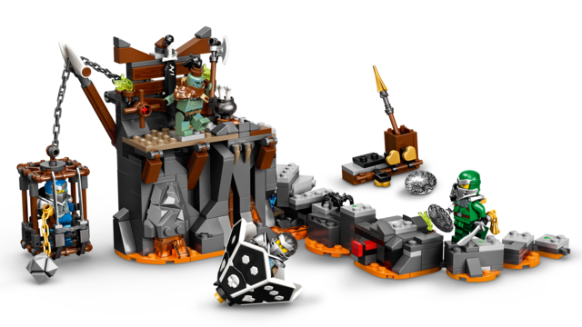 71717 LEGO Ninjago Journey to the Skull Dungeons