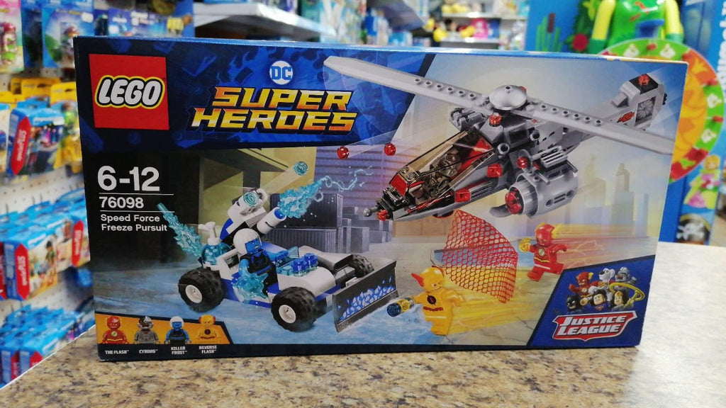 76098 LEGO Super Heroes Speed Force Freeze Pursuit