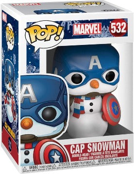532 Funko POP! Marvel Cap Snowman