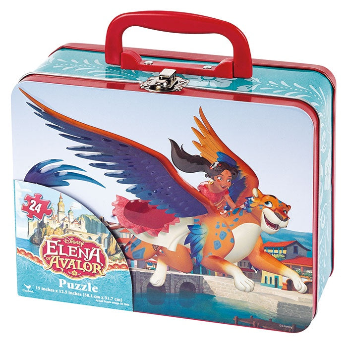 Disney Elena of Avalor 24 Piece Puzzle in Lunch Tin