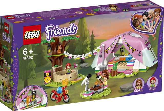 41392 LEGO Friends Heartlake City Nature Glamping