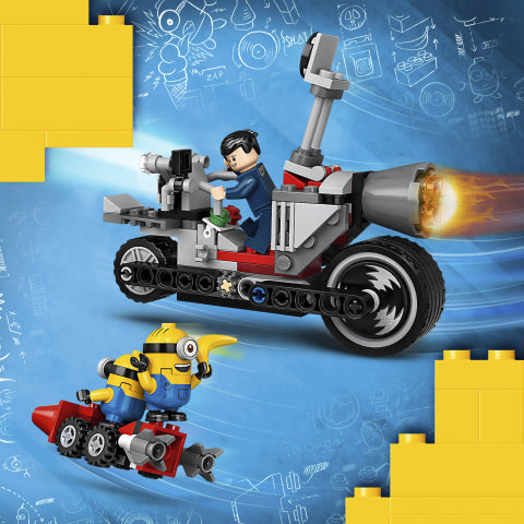 75549 LEGO Minions The Rise of Gru Unstoppable Bike Chase