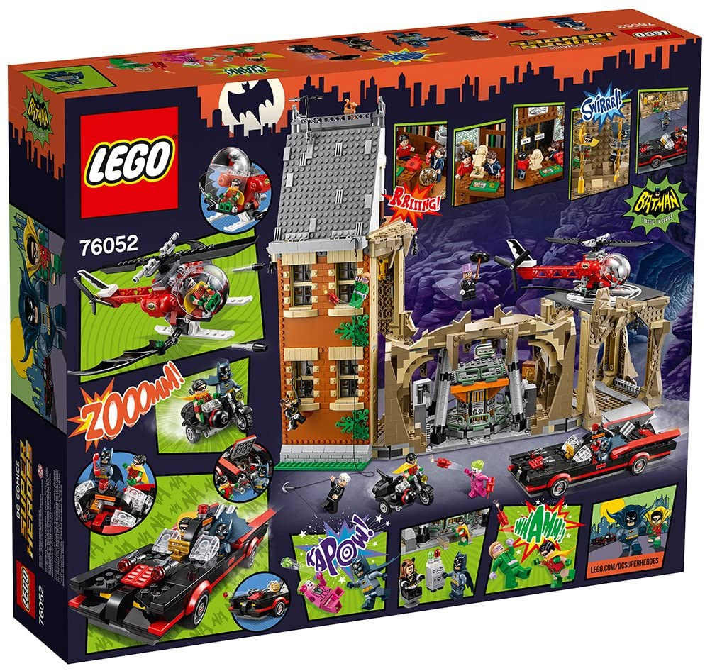 76052 LEGO Batman Classic TV Series – Batcave