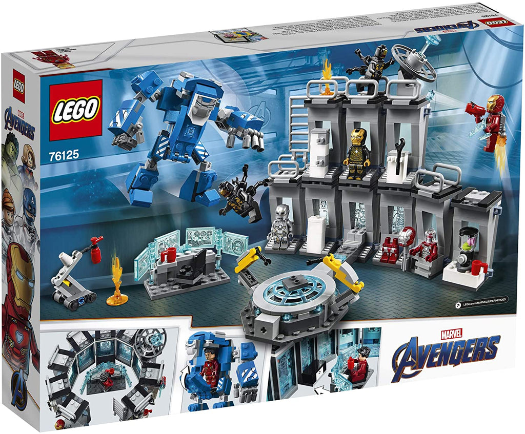 76125 LEGO Super Heroes Iron Man Hall of Armor