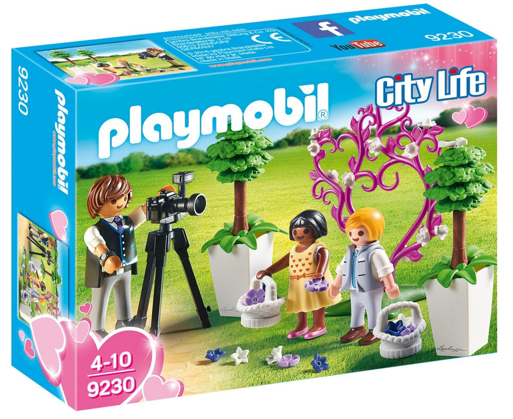 9230 Playmobil Flower Children and Photographer