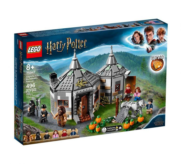 75947 LEGO Harry Potter Hagrid's Hut Buckbeak's Rescue