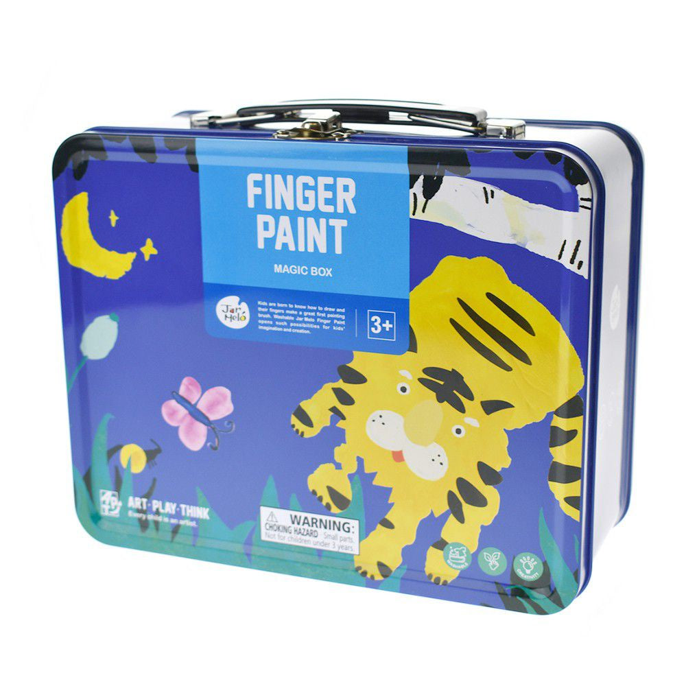 Jar Melo Finger Paint Magic Box - Boy