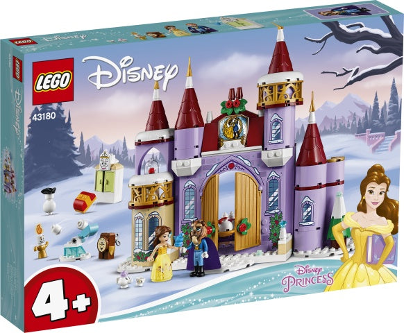 43180 LEGO Disney Princess 4+ Belle's Castle Winter Celebration