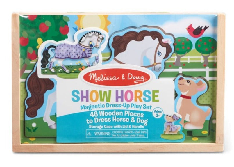 30323 Melissa and Doug Show Horse Magnetic Dress-Up Play Set