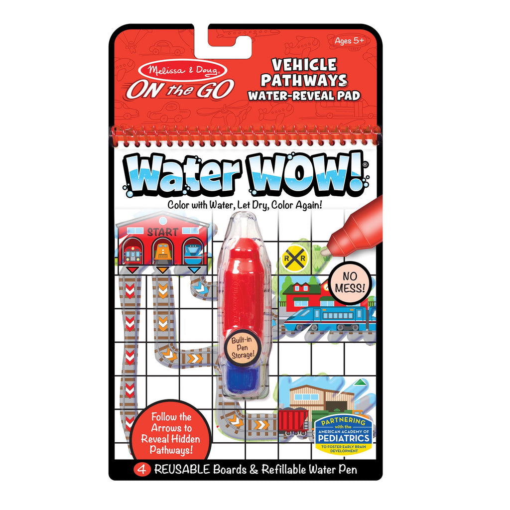 30177 Melissa & Doug Water Wow - Vehicles Pathways