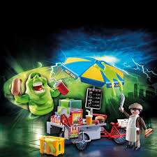 9222 Playmobil Slimer with Hot Dog Stand