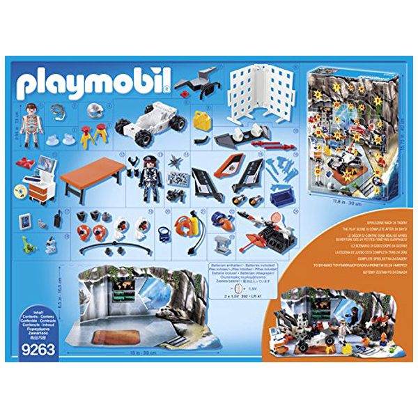 9263 Playmobil Advent Calendar - Top Agents