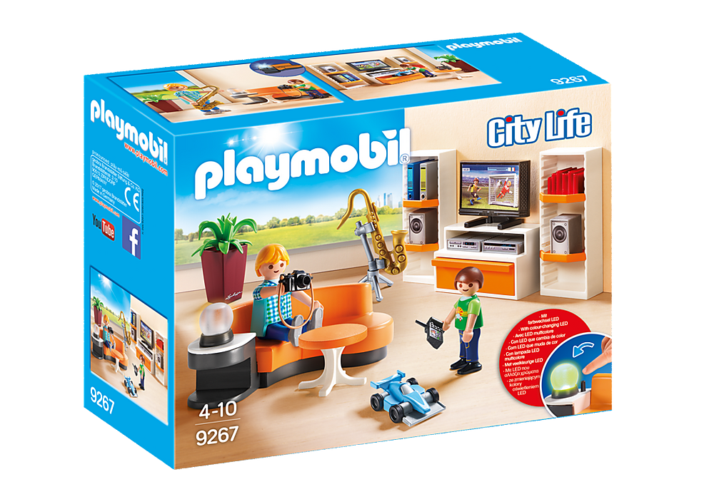 9267 Playmobil Living Room