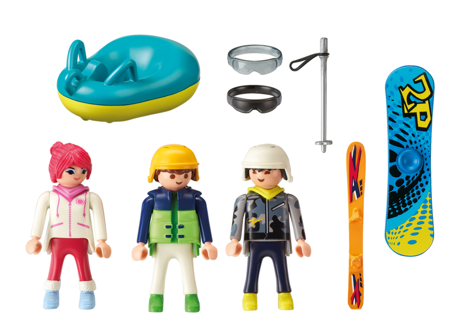 9286 Playmobil Winter Sports Trio