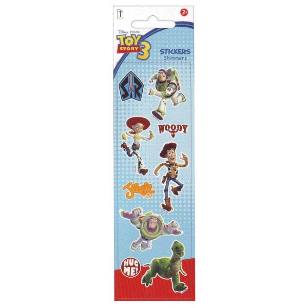 Toy Story 3 Shimmerz Stickers