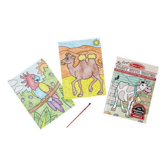 9338 Melissa & Doug My First Paint with Water - Animals