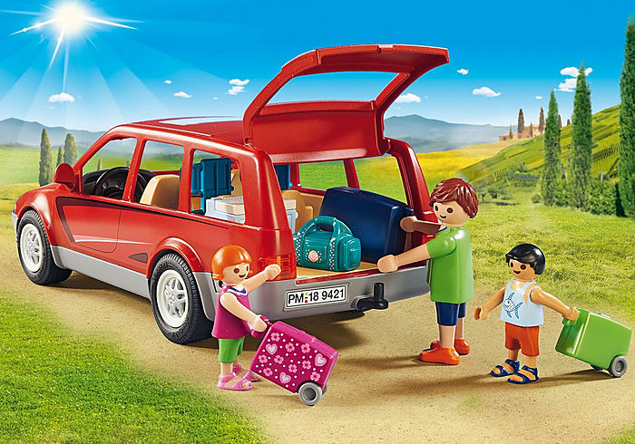 9421 Playmobil Family Car