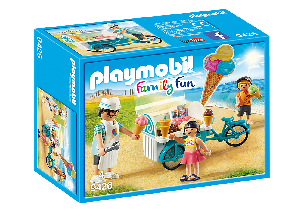 9426 Playmobil Ice Cream Cart