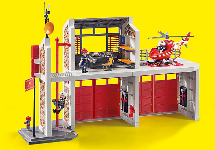 9462 Playmobil Fire Station