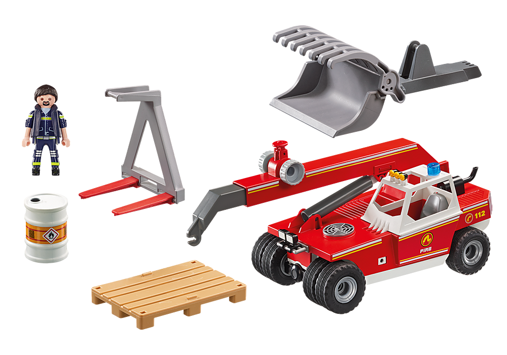 9465 Playmobil Fire Crane