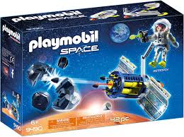 9490 Playmobil Satellite Meteoroid Laser