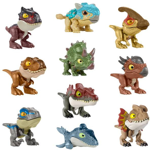 Jurassic World Camp Cretaceous Snap Squad Assorted