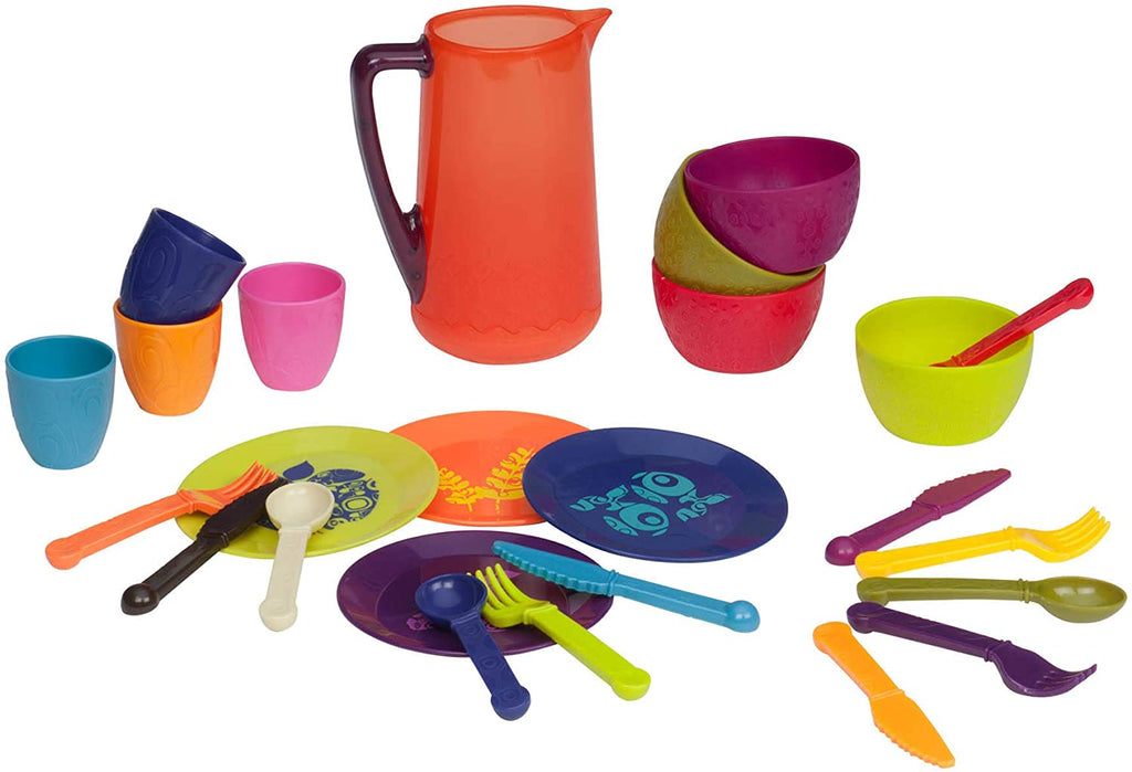 B. Toys Let's Dish 25 Piece Play Set