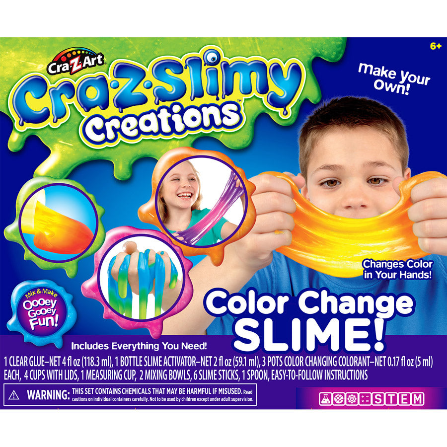 Cra-Z-Slimy Creations - Color Change Slime