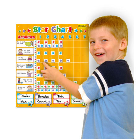 Fiesta Large Star Chart