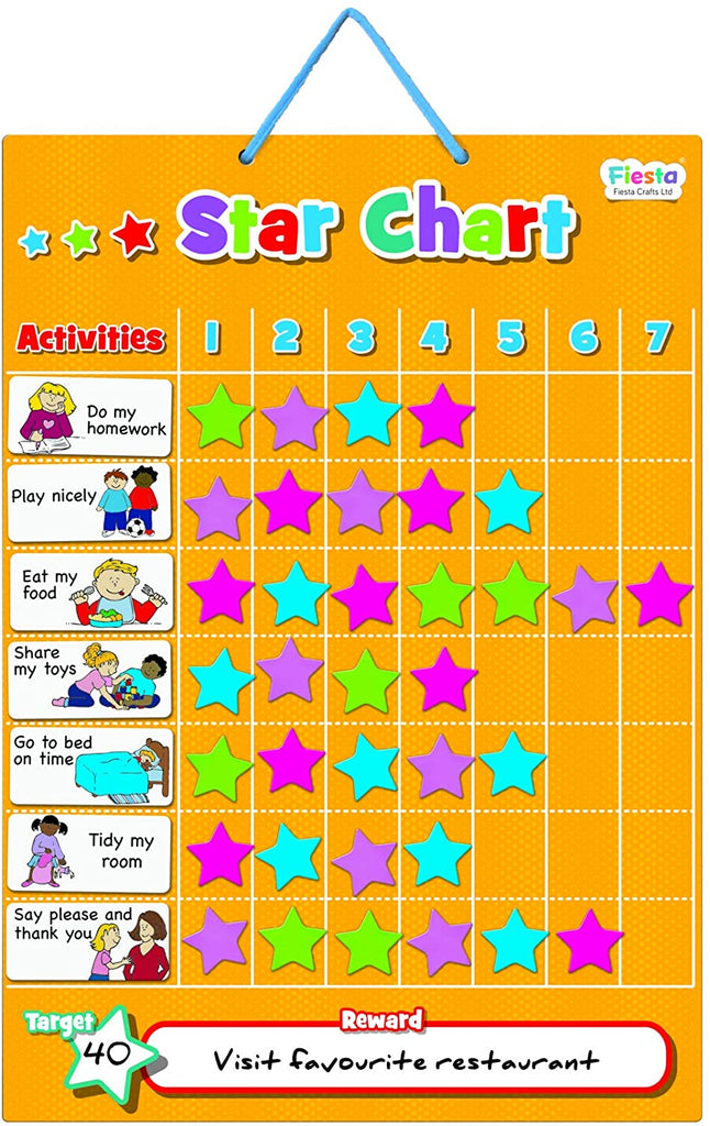 Fiesta Magnetic Star Chart