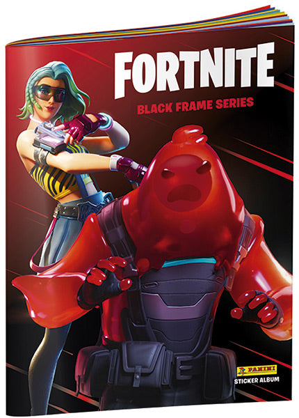 Fortnite Black Frame Series Sticker Album