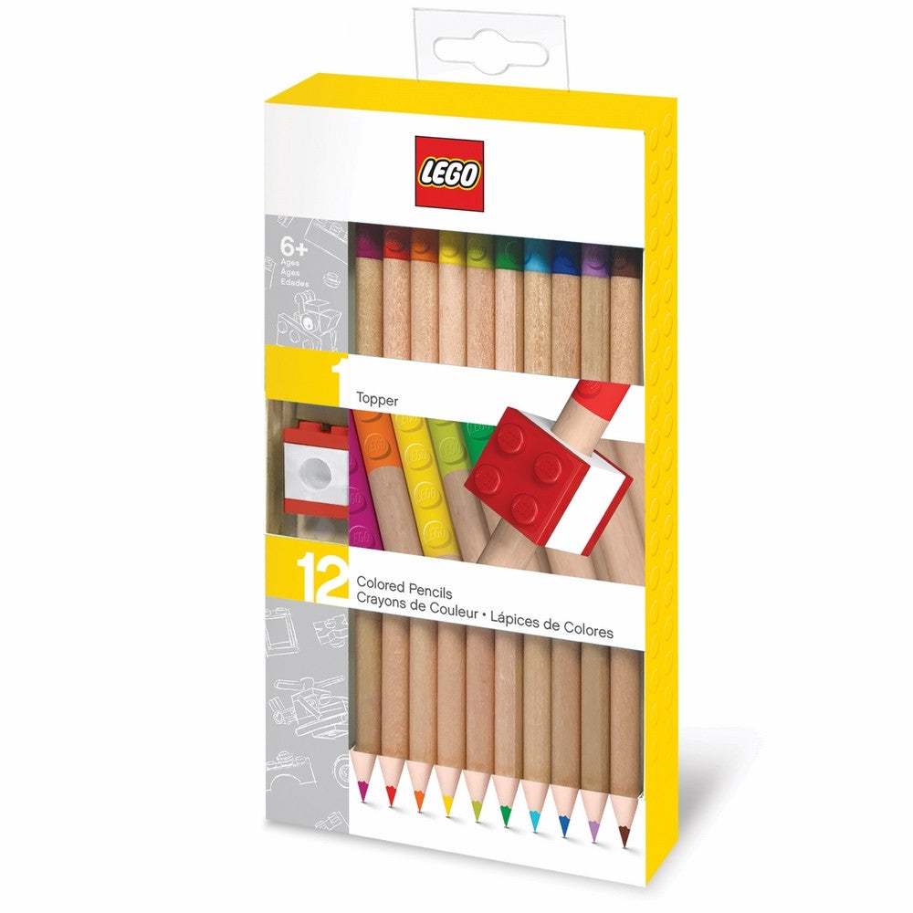 LEGO 12 Pack Colored Pencil