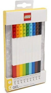 LEGO Colour Gel Pens 9 Pack