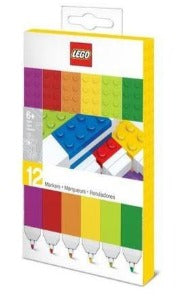 LEGO Colour Markers 12 Pack