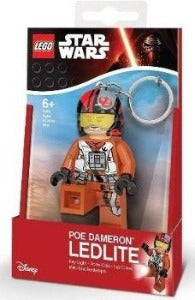 LEGO Star Wars The Force Awakens Poe Dameron L.E.D Keyring