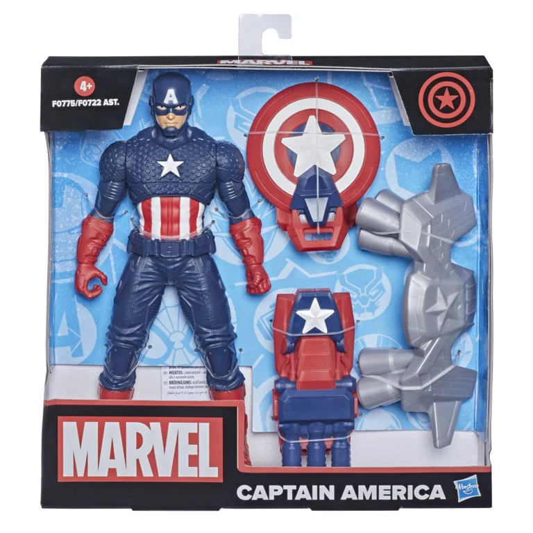 "Marvel 9.5"" Action Figure with Gear"