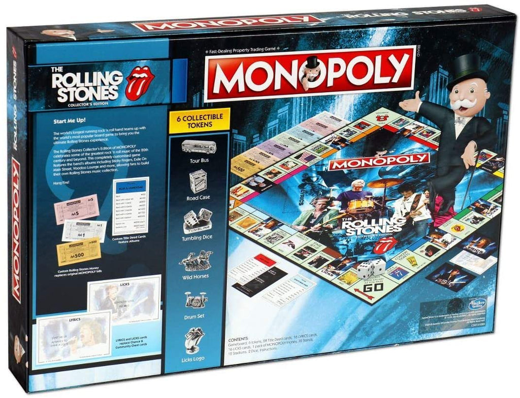 Monopoly The Rolling Stones Collectors Edition