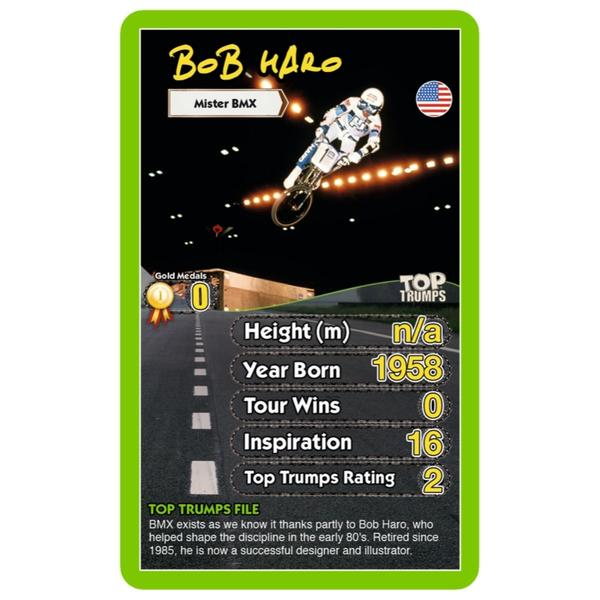 Top Trumps Top 30 Cyclists