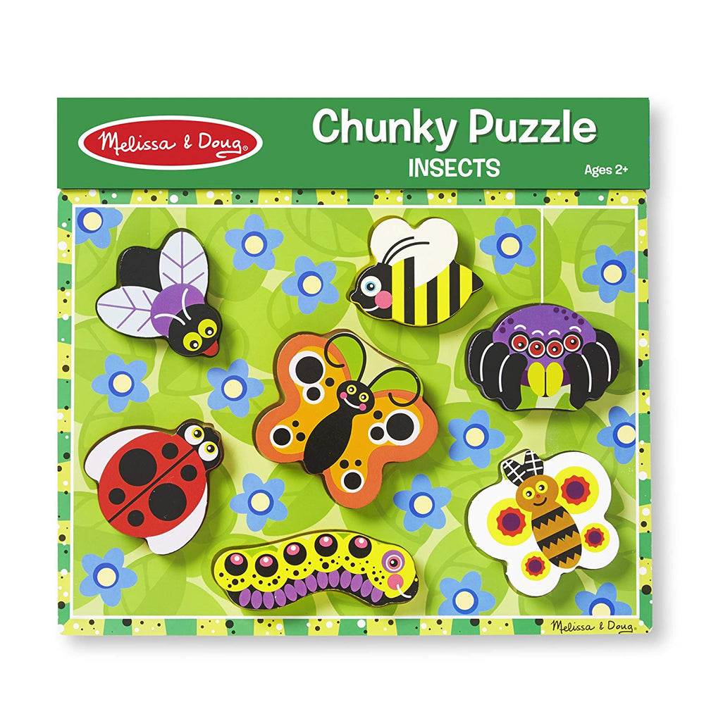 3729 Melissa & Doug Insects Chunky Puzzle