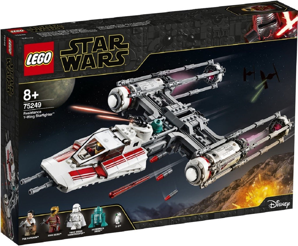 75249 LEGO® Star Wars Resistance Y-Wing Starfighter