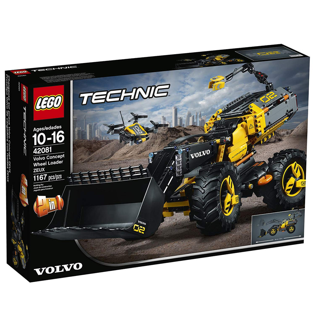 42081 LEGO Technic Volvo XEUZ Concept Wheel Loader