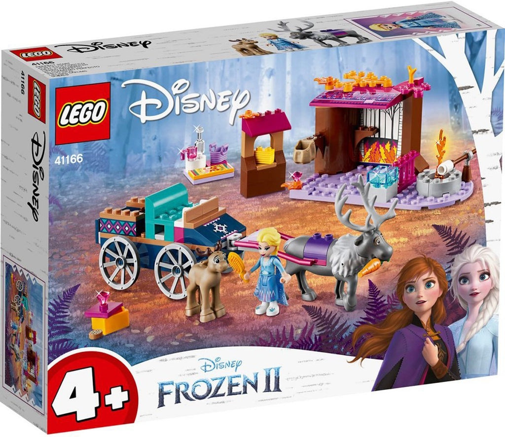 41166 LEGO Disney Princess Frozen II Elsa's Wagon Adventure